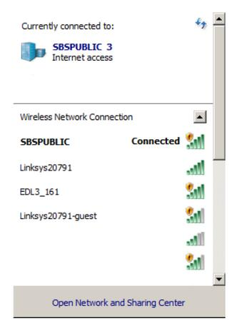 Network-Selection-Screen